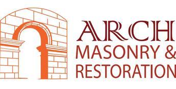 arch masonry & restoration logo